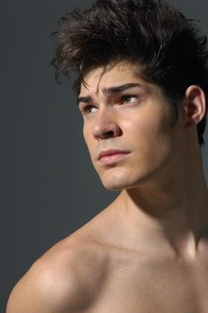 Young Man Portrait photo