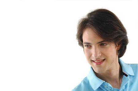 Portrait of a young man smiling Stock Photo - 12684949