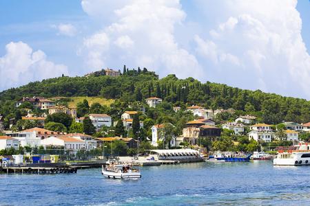、トルコのマルマラ海、プリンセス諸島。 写真素材