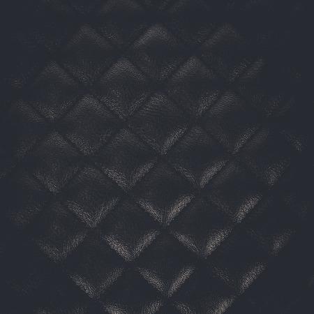 padding: Diamond leather background. Close up. Stock Photo