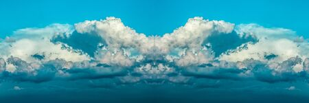 Abstract clouds background Beautiful blue sky
