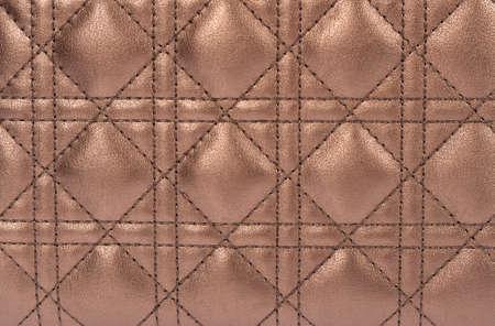 Diamond leather background. Close up. Stock Photo