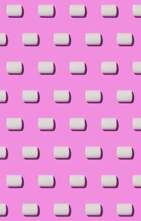 paletas de caramelo: Marshmallow color pattern background