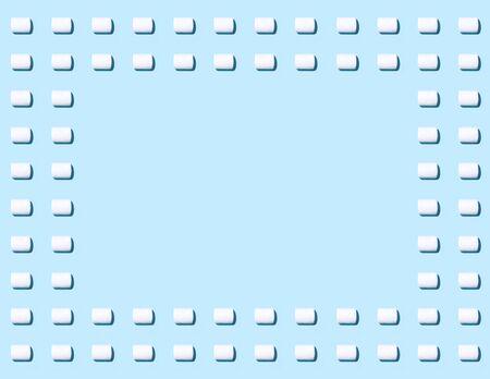 paletas de caramelo: Marshmallow fondo de patrón de color Foto de archivo