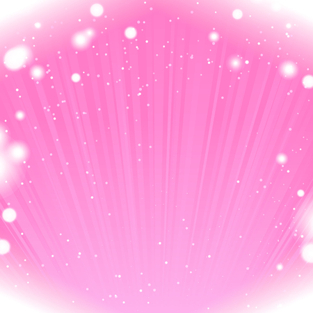 the shine: Abstract shine pink background with snowflake border