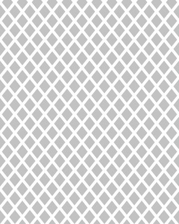 Black and white rhombus seamless pattern, illustration