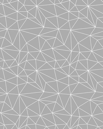 Seamless polygonal pattern background, creative design templates. Illustration