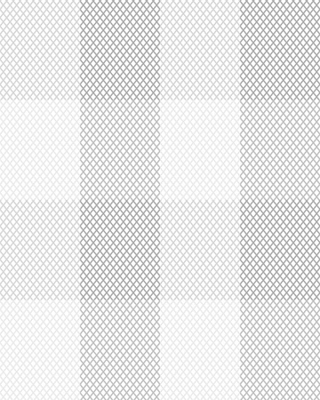 Black and white rhombus seamless pattern, vector.
