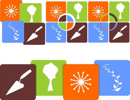 further: Icon gardens in four versions for further use