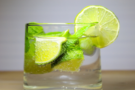 mohito: MOHITO, lime and mint