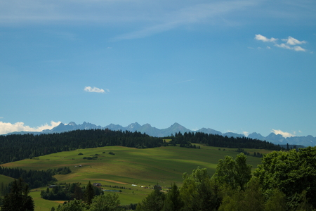 tatry: Beautiful landscape of mountains in Poland - Tatry