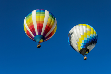 hot air balloons Banque d'images - 110560816