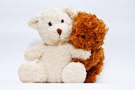 teddy bear: Teddy Bears in love Stock Photo