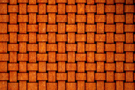 rusting: Fabric made of rusty tin Stock Photo
