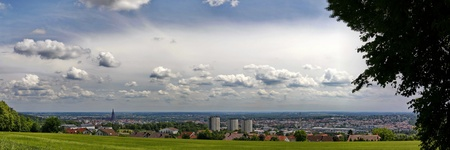 the city with the highest spire in the world (Ulmer Münster) photo