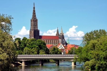 Ulm, the highest spire of the world photo