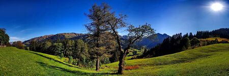 Kleinwalsertal, a charming valley in the alps