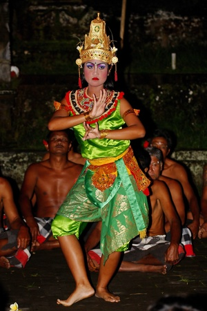Bali Kecak Dance in Junjungan Stock Photo - 13072803