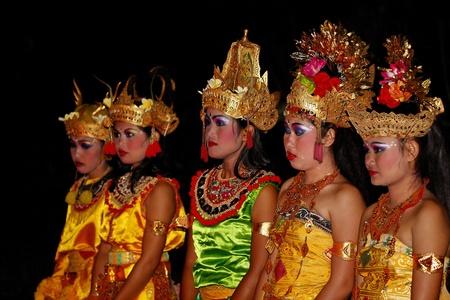 Bali Kecak Dance in Junjungan Editorial