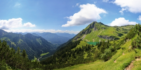 curren: Seealpsee Stock Photo