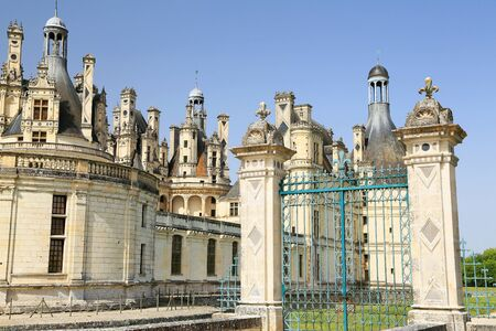 Chambord castle Editorial
