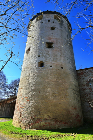 Landmarks of Landsberg am Lech 版權商用圖片