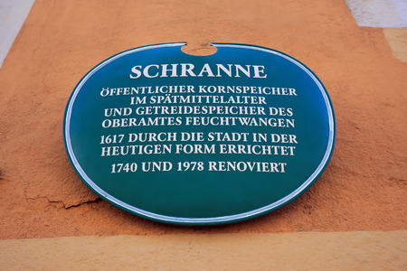 Schranne Feuchtwangen is a city in Bavaria, Germany, with many historical attractions