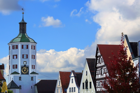Lower Gate in Günzburg is a city in Bavaria, Germany, with many historical attractions