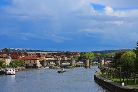 Wuerzburg is a city in Bavaria, Germany, Europe.