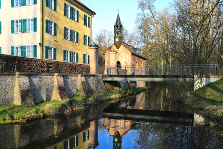 Sisi Castle in Unterwittelsbach, Germany