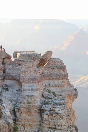 Grand Canyon, Arizona  USA - 04 30 2013 : Grand Canyon viewpoint
