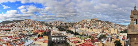 Las Palmas vues de la ville