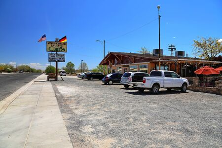 Route 66 Arizona  USA - 04 29 2013: Attractions on Route 66 in Arizona