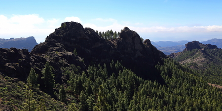 Roque Nublo is the highest mountain in Gran Canaria