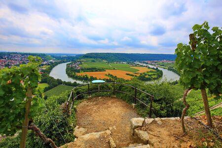 Mundelsheim am Neckar a wine region near Stuttgart