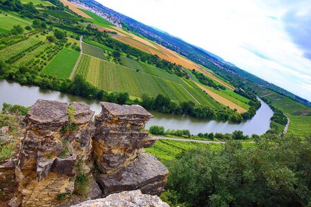 Hessigheim rock gardens are well suited for climbing and hiking