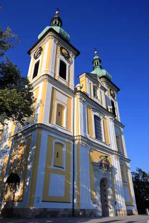 The town church of Sankt Johann is a sight of the town of Donaueschingen