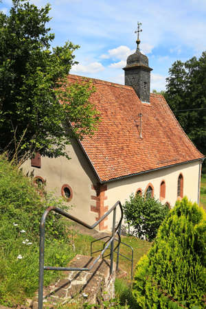 The Amorsbrunn Chapel is a sight of the town of Amorbach in Lower Franconia