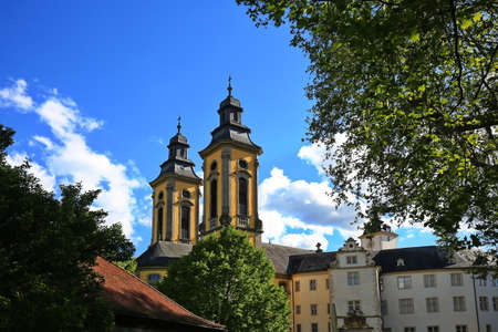 Bad Mergentheim is a town in Baden-Württemberg with many historical sights Standard-Bild