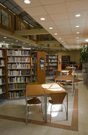 Library in a school Zdjęcie Seryjne
