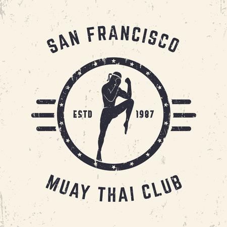 Free download of Muay Thai vector logos