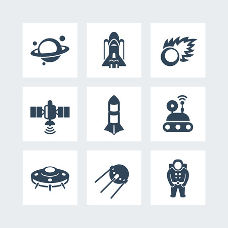 spaceflight: Space icons set