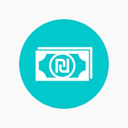 israeli: shekel icon, israeli currency symbol
