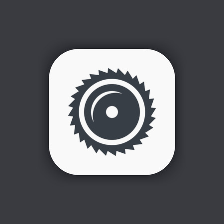 blade: Sawmill icon, circular saw blade