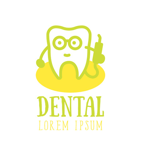Tooth dentist line icon, dental clinic, stomatology logo element