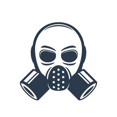 gas mask element Illustration