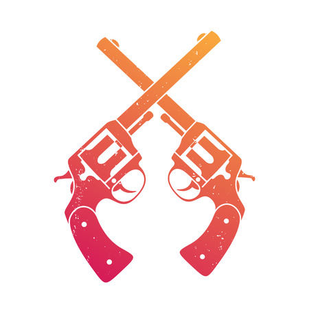 revolver pistols gun handguns grenade silhouettes vector rh 123rf com Military Skull Vector Exploding Hand Grenade Drawing