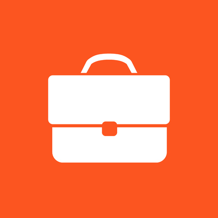 detachment: business briefcase icon Illustration