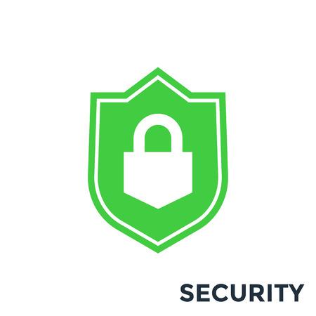 Escudo, icono de seguridad Foto de archivo - 85710151