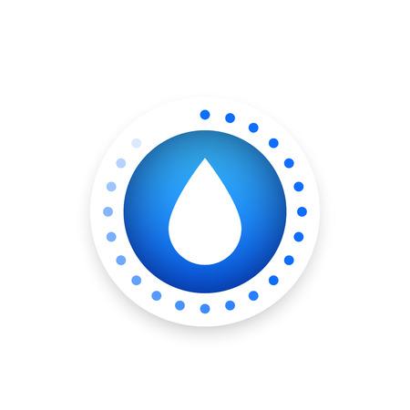 icono de control de humedad